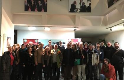 הסדנה המתודולוגית הראשונה של תלמידי מחקר בתחום סין בישראל: מפגש בין מרצים לתלמידים – ינואר 2016