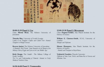 Movement, Temporality and Exchange: Animals in Mongol Eurasia