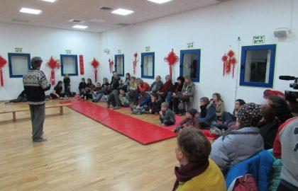 """חגיגת ראש השנה הסיני בבי""""ס הירושלמי לאמנויות לחימה"""