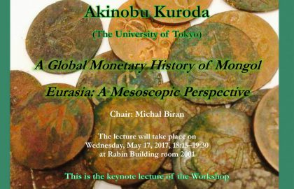 A Global Monetary History of Mongol