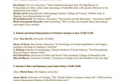 Animals and Human Society in the Asian Sphere