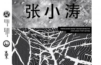 הרצאתו של האמן Zhang Xiaotao- 张小涛  בבצלאל – נובמבר 2014